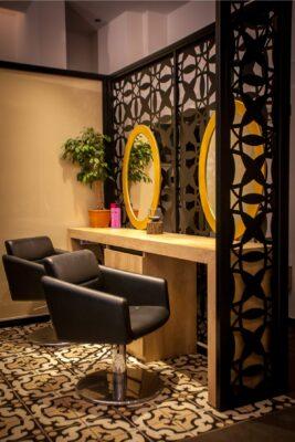 Ο χώρος του Vaso Hair and Beauty στην Ευκαρπία