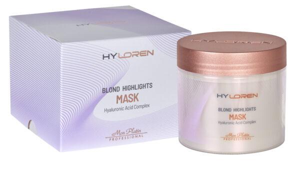 Mon Platin Hyloren Blond Highlights Mask 500ml