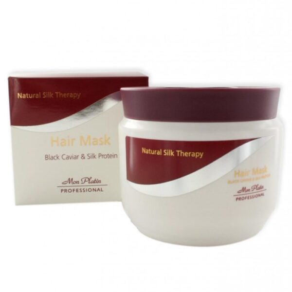 Mon Platin Natural Silk Therapy Hair Mask Black Caviar 500ml