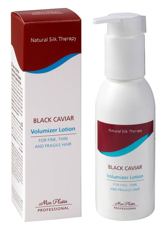 Mon Platin Black Caviar Volumizer Lotion For Fine, Thin & Fragile Hair