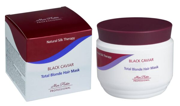 Mon Platin Total Blond Hair Mask Black Caviar 250ml