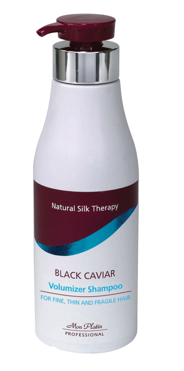 Mon Platin Black Caviar Volumizer Shampoo For Fine, Thin & Fragile Hair 500ml