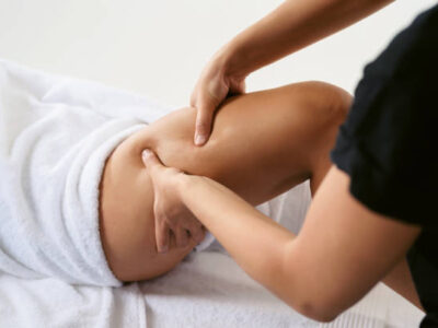 Massage ποδιών