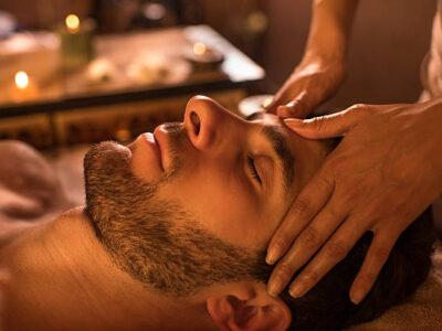 Massage κεφαλής